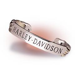 Harley-Davidson® Men's Iron Eagle Torque Bracelet - Product Image