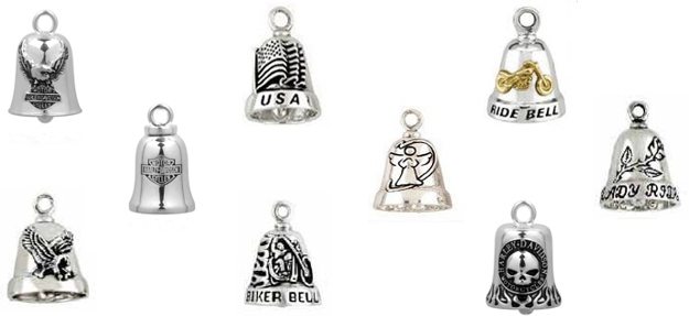 Ride Bells Biker Jewelry
