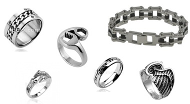 Stainless Steel Biker Jewelry